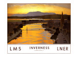 Inverness Giclee Print by Norman Wilkinson