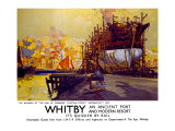 Whitby Giclee Print by Frank Mason