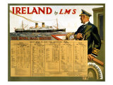 Ireland by LMS, the Royal Mail Giclee Print