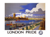 London Pride, GWR Poster, 1946 Giclee Print by Frank Mason