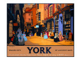 York, Walled City of Ancient Days Giclee Print by Fred Taylor