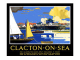 Clacton-On-Sea Giclee Print by Frank Mason