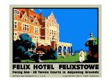 Felix Hotel Giclee Print by Frank Newbould
