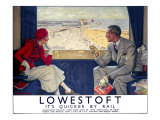 Lowestoft, LNER/LMS Poster, 1933 Giclee Print by Arthur C Michael