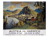Austria Via Harwich Giclee Print by C. Gorbatoff