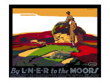 By LNER to the Moors, 1923-1947 Giclee Print by Tom Grainger
