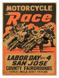 San Jose, Californie Reproduction procédé giclée
