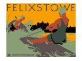 Felixstowe, LNER Poster, 1923-1947 Giclee Print by Tom Purvis