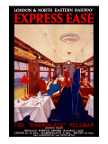 Express Ease, LNER Poster, 1923-1930 Giclee Print by George Harrison