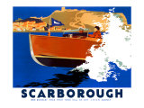 Scarborough, LNER Poster, 1930 Giclee Print by Frank Newbould