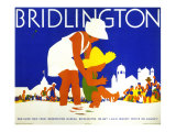 Bridlington, LNER Poster, circa 1935 Giclee Print by Tom Purvis