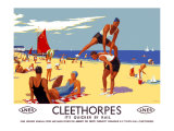 Cleethorpes: Its Quicker by Rail Giclee Print by Greig