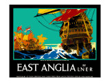 East Anglia Giclee Print by Frank Mason