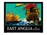East Anglia Giclee Print by Frank Mason