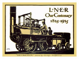 Our Centenary, 1825-1925, LNER Poster, 1925 Giclee Print by Terence Tenison Cuneo