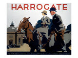 Harrogate, LNER Poster, 1930 Giclee Print by Frank Newbould