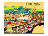 Rothesay Giclee Print by Fred Taylor