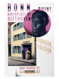 Bonn on Rhine, Birthplace of Beethoven Giclee Print by Austin Cooper