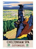 Cheltenham Spa, GWR/LMS Poster, 1923-1947 Giclee Print by Ch Birtwhistle