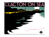 Clacton-On-Sea, LNER Poster, 1923-1947 Giclee Print by Tom Purvis