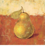 Paisley Pears II Prints by Stefania Ferri