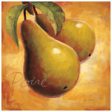 Luscious Pears Art by Marco Fabiano