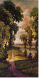 Tranquility Path I Stretched Canvas Print by Pierre-Auguste Renoir