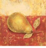 Paisley Pears IV Prints by Stefania Ferri