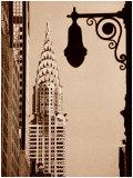 Chrysler Building Poster von Sasha Gleyzer