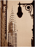 Chrysler Building Posters by Sasha Gleyzer