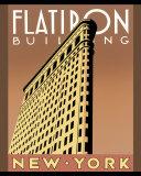 Flatiron Building Poster af Brian James