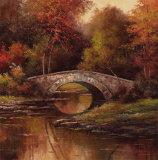 Pont en pierre Affiches par T. C. Chiu