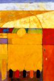 Campo dorado Arte por Tony Saladino