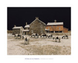 Gypsies at Night Print by Peter Sculthorpe