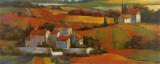 Tuscan Sunrise Prints by T. C. Chiu