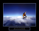 Attitude: Skateboarder Poster