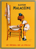 Savon Malaceine Tin Sign