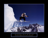 Persistence: Snowboarder Julisteet