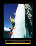 Challenge: Ice Climber Poster