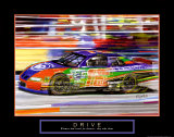 Drive: Race Car Kunst von Bill Hall