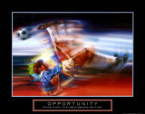 Opportunity: Soccer Art by Bill Hall