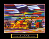 Power: Formula 1 Kunstdrucke von Bill Hall