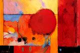 Red Cloud II Poster von Tony Saladino