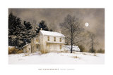 Wolf Moon Prints by Ray Hendershot