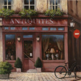 Antiquites Prints by T. C. Chiu