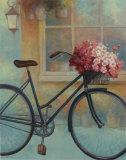 Fleurs Bicyclette I Lámina