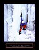 Determination: Ice Climber Affiches