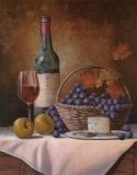 Wine and Grape I Affiches