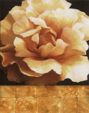 Magnolia Gold Tile II Prints by T. C. Chiu