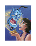 Aladdin and the Genie: The Magic Lamp Plakater